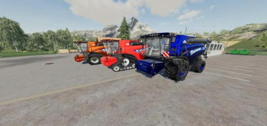 Photo of FS19 – New Holland Cr1090 Maxi V1