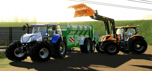 Photo of FS19 – New Holland T7 Series V1.4