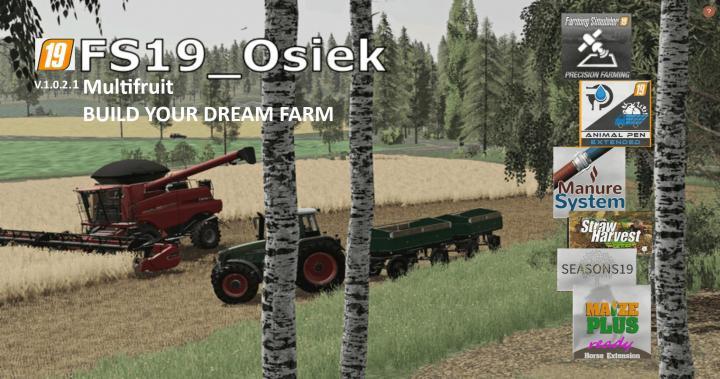 FS19 - Osiek Map V1.0.2.1