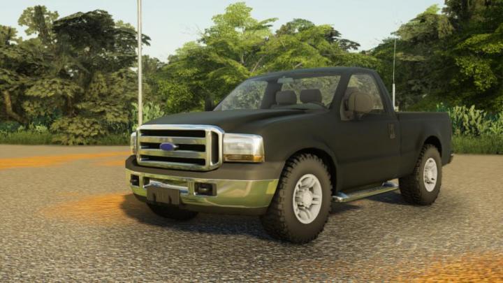 FS19 - Pickup F250 Brazil V1