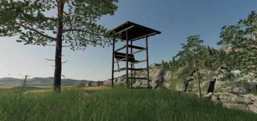 Photo of FS19 – Placeable Highseat V1