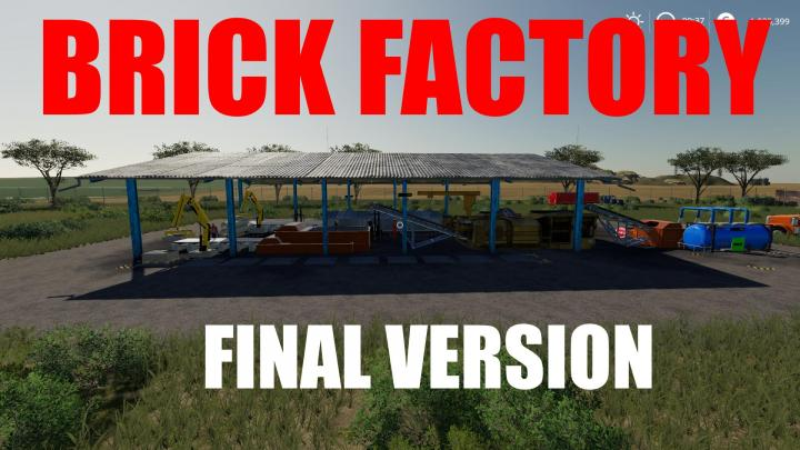 FS19 - Red Brick Factory Final