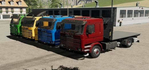 Photo of FS19 – Scania 113H Sidedoors + Crane V1