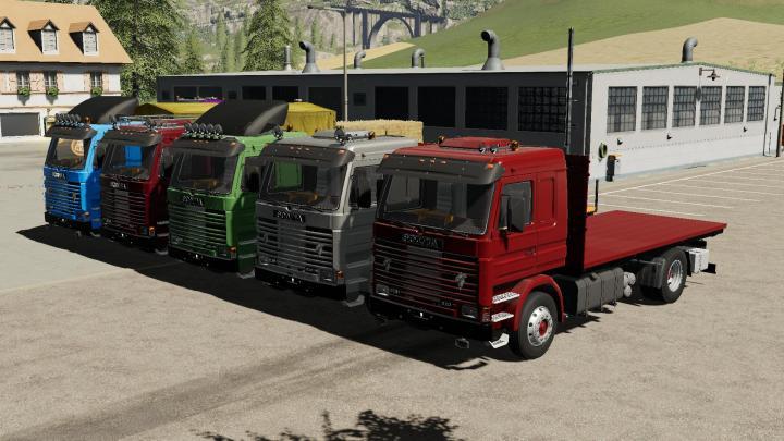 FS19 - Scania 113H Sidedoors V1