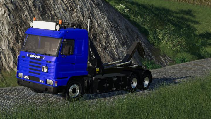 FS19 - Scania 143M Hkl Truck V1