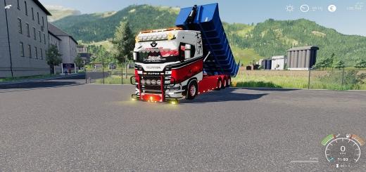 Photo of FS19 – Scania Hooklift V1