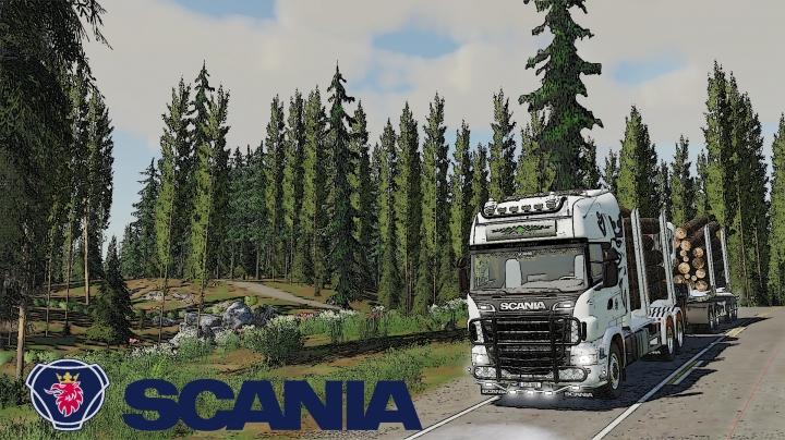 FS19 - Scania R730S Timber Truck V1