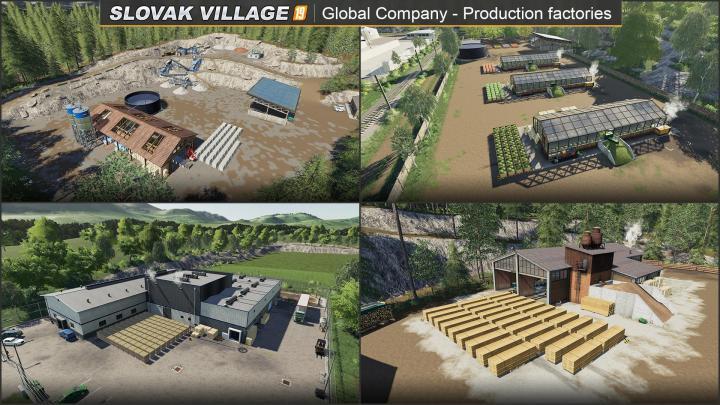 FS19 - Slovak Village Rus Map V1.2