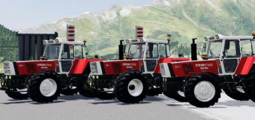 Photo of FS19 – Steyr 8180 Turbo Tractor V2