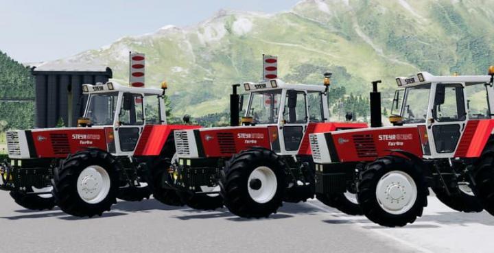 FS19 - Steyr 8180 Turbo Tractor V2
