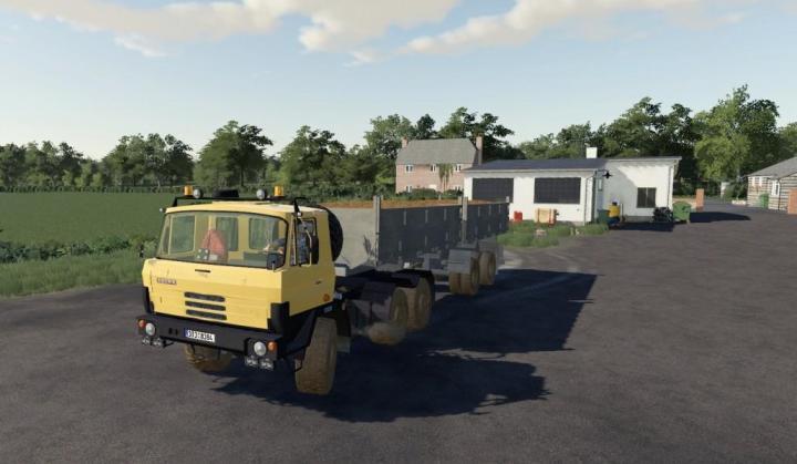 FS19 - Tatra 815 Nth Truck V1
