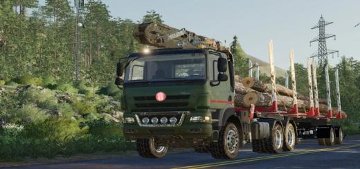 Photo of FS19 – Tatra Phoenix L Crane V1.0