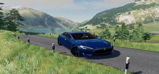 Photo of FS19 – Tesla Model S V1