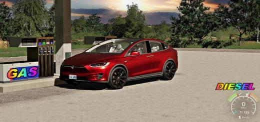 Photo of FS19 – Tesla Model X Diesel V1