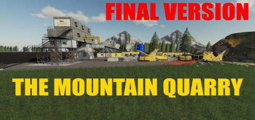 Photo of FS19 – The Mountain Quarry Final Version Final