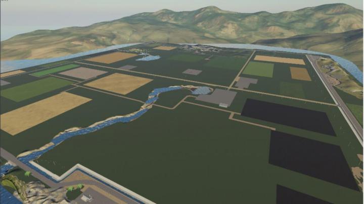 FS19 - Upper Lake Farm Map V1