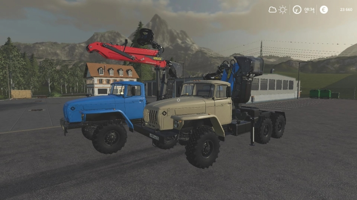 FS19 - Ural 44202 With Manipulator V2