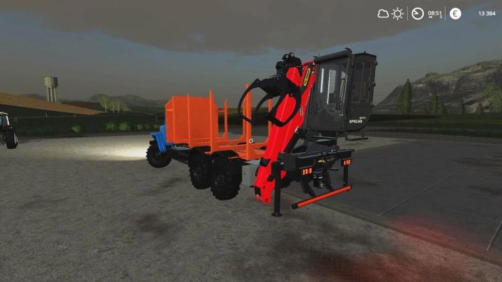 FS19 - Ural Autoload With Manipulator - Alteration V1
