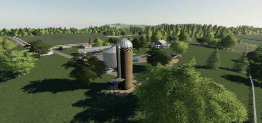 Photo of FS19 – Us Hay Silo V1.0