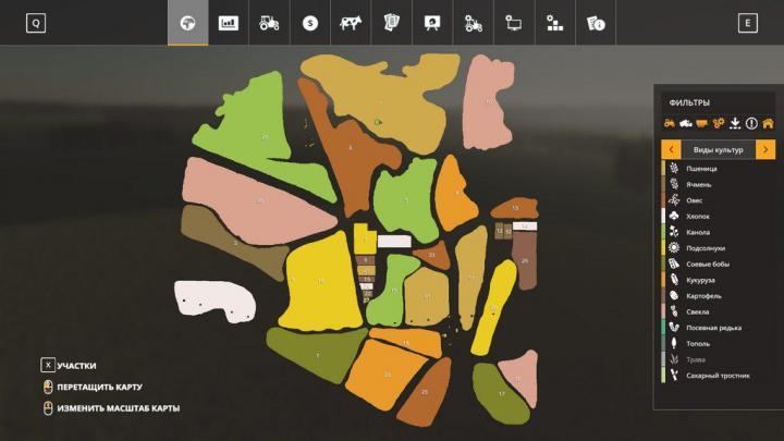 FS19 - Uteshevo Map V1.1 Beta
