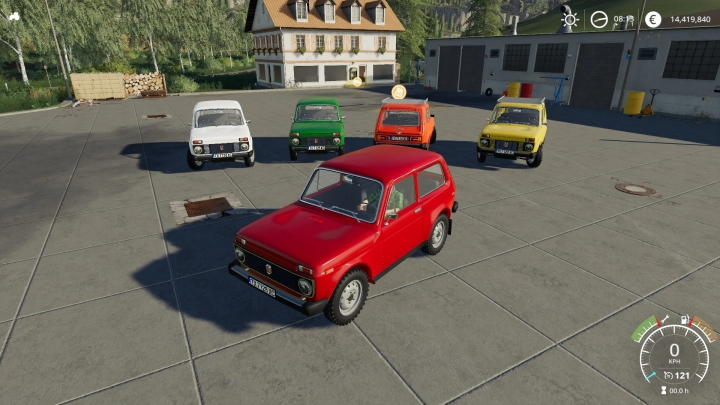 FS19 - Vaz 2121 / Lada Niva 1600 V1
