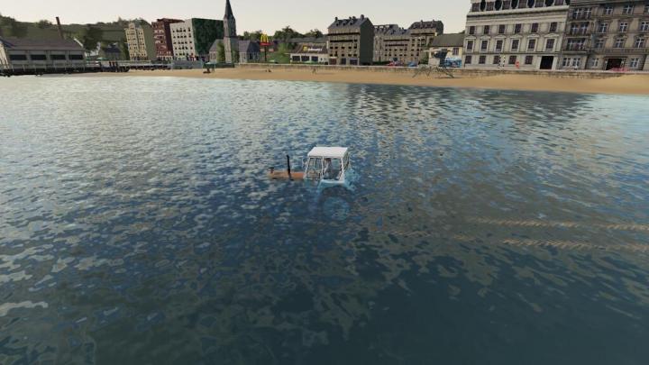 FS19 - Vehicle Water Break V1