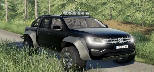 Photo of FS19 – Volkswagen Amarok Offroad Kit V1