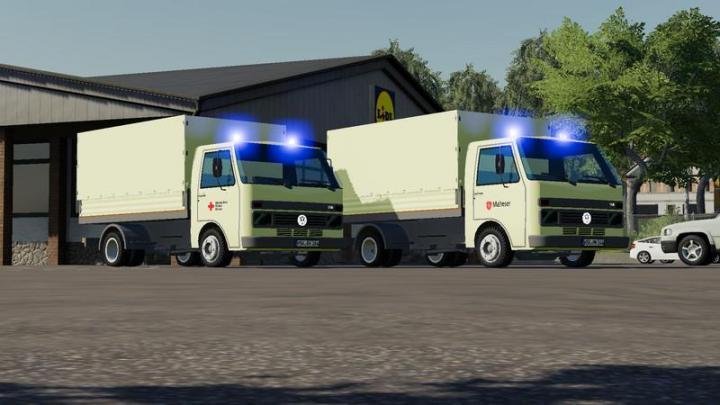 FS19 - Volkswagen Lt Drk & Malteser V1