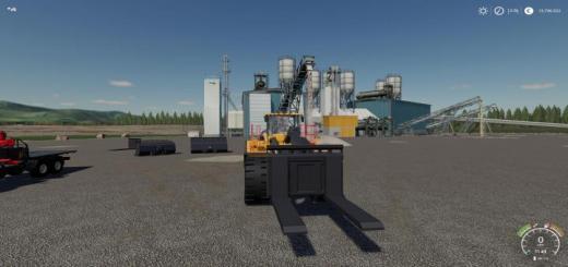 Photo of FS19 – Volvo L-350H Mining Loader + New Tools V1.1