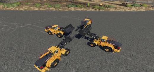 Photo of FS19 – Volvo L-350H Mining Loader + New Tools  V1.2