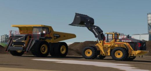 Photo of FS19 – Volvo L-350H Mining Loader V1