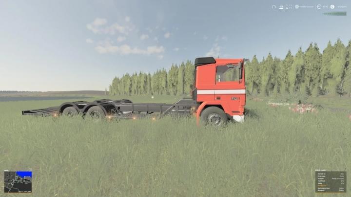 FS19 - Volvo Metsakoneenkuljetus Lavetti V1