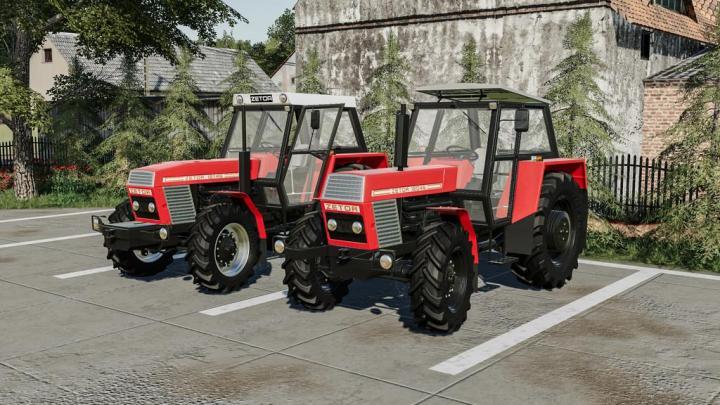 FS19 - Zetor 12045-16145 Pack V2.1