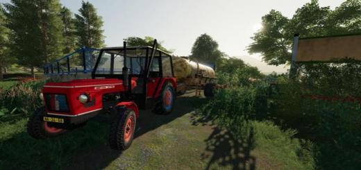 Photo of FS19 – Zetor 6718 Tractor V1