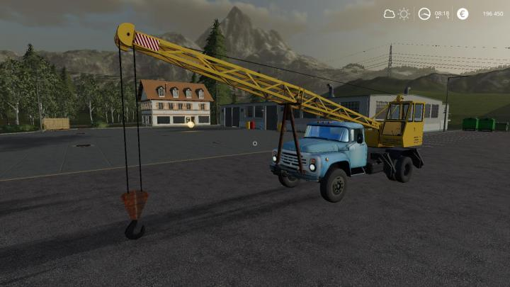 FS19 - Zil 130 Crane Beta