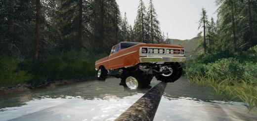 Photo of FS19 – 1970 Ford Mud Truck V1.0