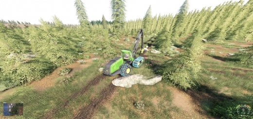 Photo of FS19 – Bear Forest Map V1.0