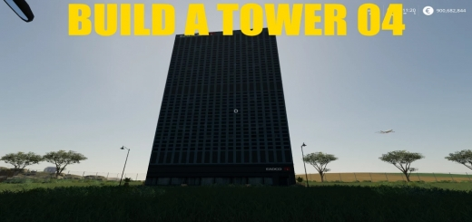 Photo of FS19 – Build A Big Tower 04 V1