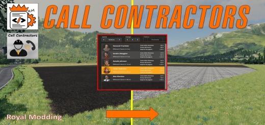 Photo of FS19 – Call Contractors V1.0