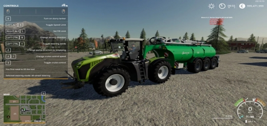 Photo of FS19 – Claas Xerion 4000 V1.0.0.1