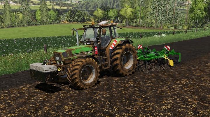 FS19 - Deutz-Fahr Agrostar 6.71/6.81 V1.0.1