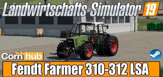Photo of FS19 – Fendt Farmer 310-312 Lsa Turbomatik V1.5.2