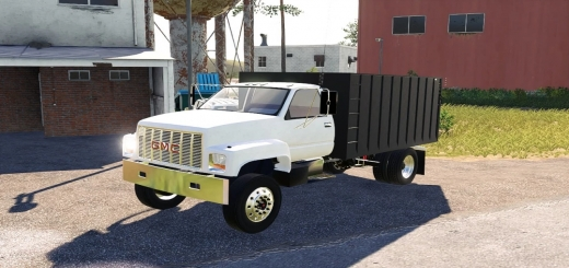 Photo of FS19 – Gmc Single Axle Grain Truck V1.0
