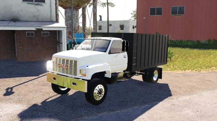FS19 - Gmc Single Axle Grain Truck V1
