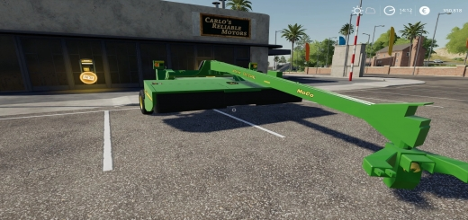 Photo of FS19 – John Deere 956 Moco V1.0