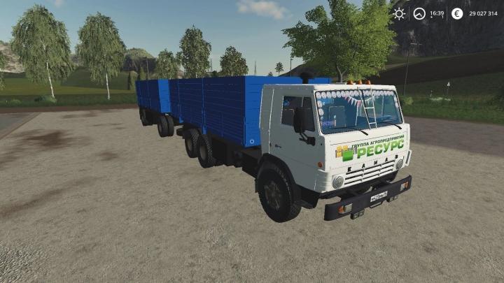 FS19 - Kamaz 53212 Szap 8357 V2.1