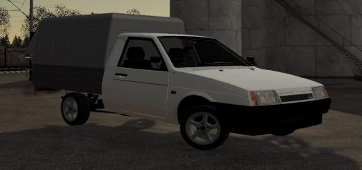 Photo of FS19 – Lada Vis 23472 Pickup V1.0