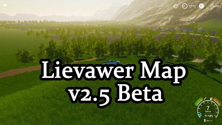 FS19 - Lievawer Map V2.5 Beta