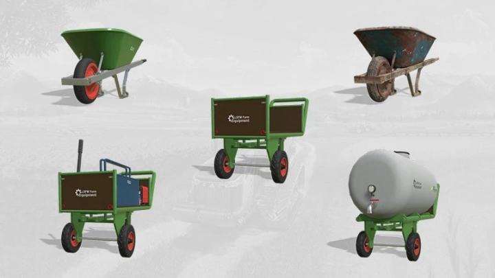 FS19 - Lsfm Farm Equipment Pack V1.0.0.1