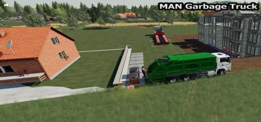 Photo of FS19 – Man Garbage Truck V0.1